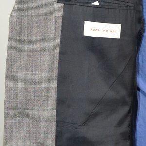 Moda Prima Suits & Blazers - Moda Prima 40R Sport Coat Blazer Suit Jacket Gray